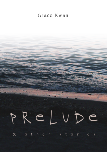 cover of Prelude, featuring a photo of a seashore